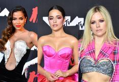 MTV VMAs 2021: Mira los mejores looks en la red carpet  | FOTOS