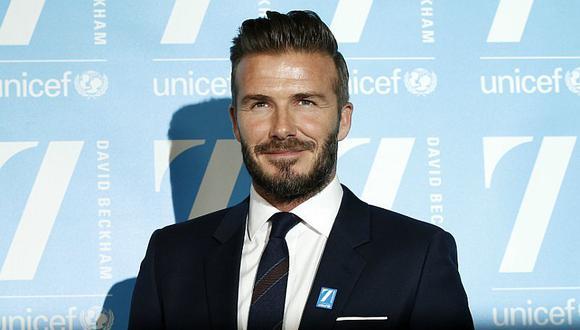 ¡David Beckham le dice 'NO' a la violencia con este impactante video!
