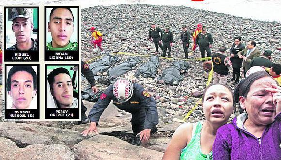 ¡Mar de lágrimas! Familiares de soldados muertos hacen fuerte acusación tras tragedia