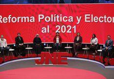 Elecciones 2020: así fue el primer debate de candidatos sobre la reforma política