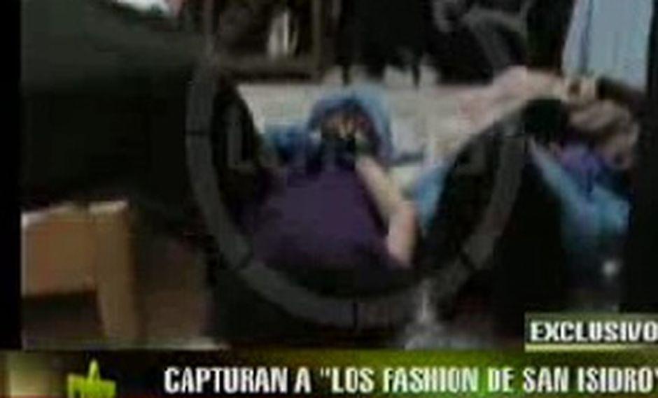 Sujetos que robaban en terno fueron capturados en San Isidro
