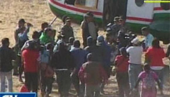 Cuerpo de Ciro Castillo es trasladado a la ciudad de Arequipa