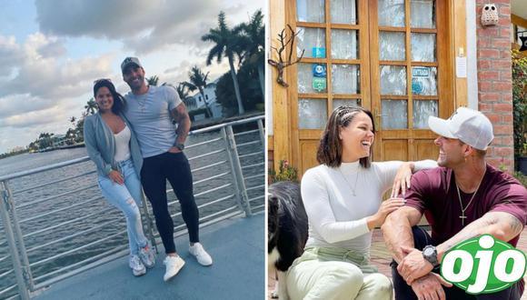 Andrea San Martín confiesa sus planes de matrimonio con Sebastián Lizarzaburu. (Foto: Instagram/@sebaslizar, @mama.porpartidadoble)