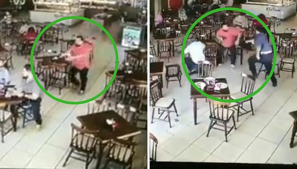 Sicario falló al disparar y lo terminan golpeando brutalmente (VIDEO)