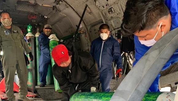 También llegaron a San Martín, 23,725 pruebas rápidas, 2,800 pruebas moleculares y equipos de protección personal.