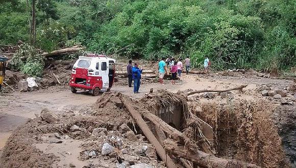 Defensoría del Pueblo: urge un plan de acción ante lluvias