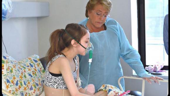 Chile: Muere niña que le pidió eutanasia a Michelle Bachelet