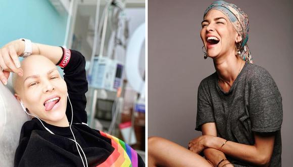 La actriz Anahí de Cárdenas contó además que su cabello está empezando a crecer de a pocos. (@anahidec).
