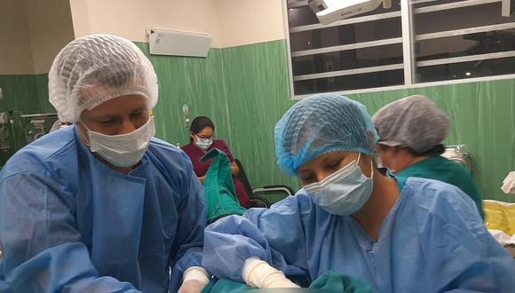 San Martín: dos robustos bebés nacieron las primeras horas del 2021 en la región (Foto: Gore San Martín)
