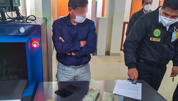 El trabajador fue intervenido cuando retornaba de su hora de refrigerio. (Foto: INPE)