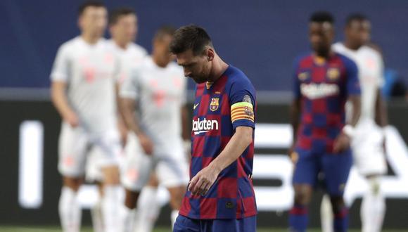Messi sería la gran baja del Barcelona tras el catastrófico 8-2 en Champions. (Foto: AFP)
