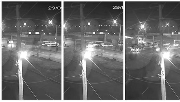 Ancón: terrible accidente deja tres heridos y cámara de seguridad lo registra todo (VIDEO)