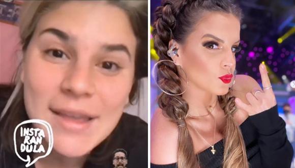 """Macarena Vélez responde a fans de Alejandra Baigorria: """"¡El odio que recibo es impresionante!""""│VIDEO"""