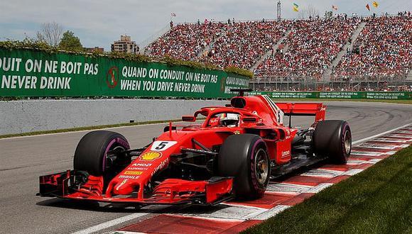Fórmula 1: Vettel gana el GP de Canadá y pasa a liderar el Mundial