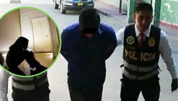 Apurímac: Detienen a sujeto que abusó de su hija de diez años, quien fue hospitalizada (Foto: PNP)