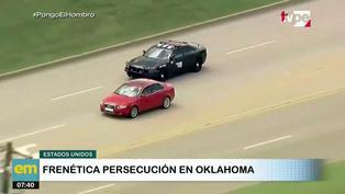 EE.UU.: Persecución 'de película' para capturar a infractor en Oklahoma