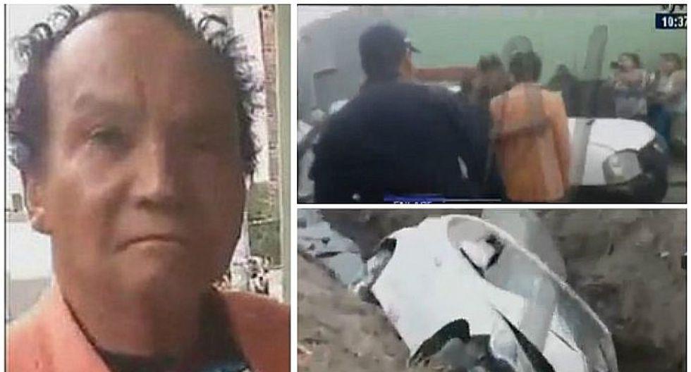 Melcochita casi es linchado por familiares de hombre que murió en accidente (VIDEO)