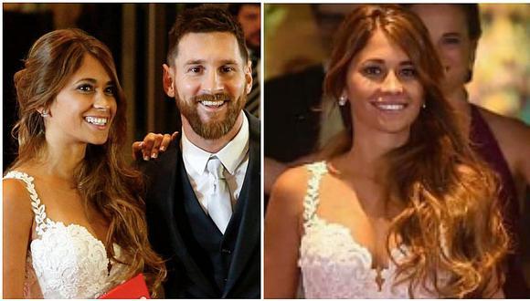 La boda de Messi y Antonella: este fue el espectacular vestido que la novia lució (FOTOS)