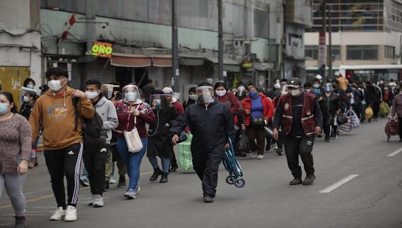 La cifra de contagiados por el COVID-19 aumentó, según informó el Minsa. (Foto: Anthony Niño de Guzmán\GEC)