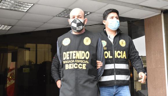 El venezolano Michael Rondón era buscado en su país por asesinar y descuartizar a cuatro personas. (FOTO: PNP)