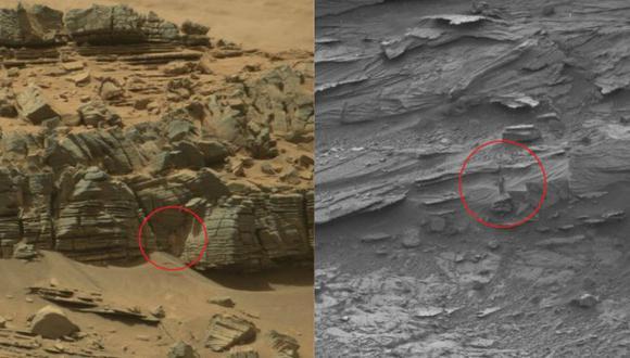 Facebook: Curiosity encontró una mujer en una cueva de Marte [VIDEO]