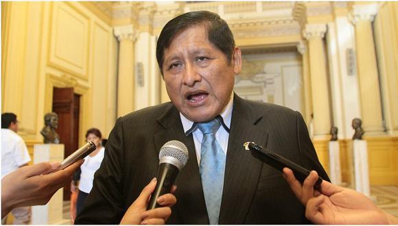 Juan Pari señaló que Perú Libre otorgará un sistema crediticio que beneficie a las mypes. (Foto: GEC)