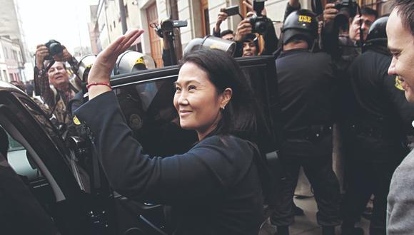 Keiko Fujimori cumplirá comparecencia con restricciones, luego que se revocara la medida de prisión preventiva en su contra. (Foto: Miguel Bellido/Archivo El Comercio)