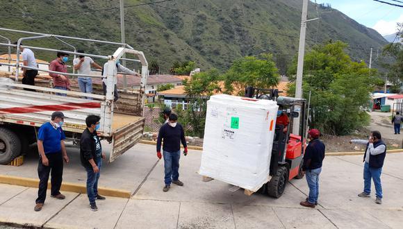 Apurímac: entregan planta de oxígeno que será instalada en hospital Guillermo Díaz para pacientes COVID-19 (Foto: hospital Guillermo Diaz)
