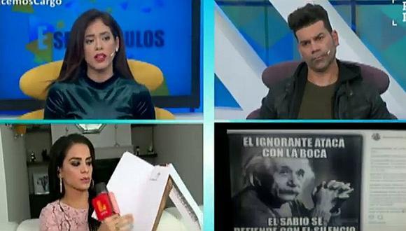Tomate Barraza: su esposa saca las garras por él y lo defiende de Danuzka Zapata