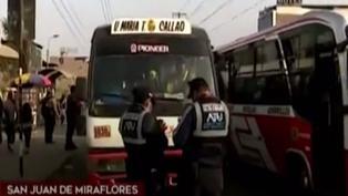 San Juan de Miraflores: conductor de combi atropelló a fiscalizador durante operativo