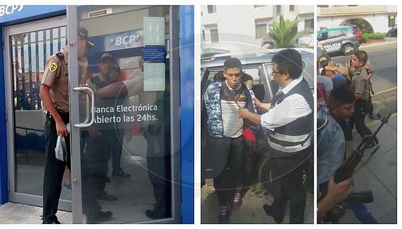 Frustran asalto a banco BCP de Barranco gracias a vecina que vio a ladrones entrar a entidad (FOTOS Y VIDEO)