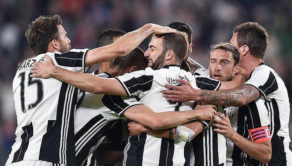 Serie A: Juventus golea al Génova y es fijo para el título