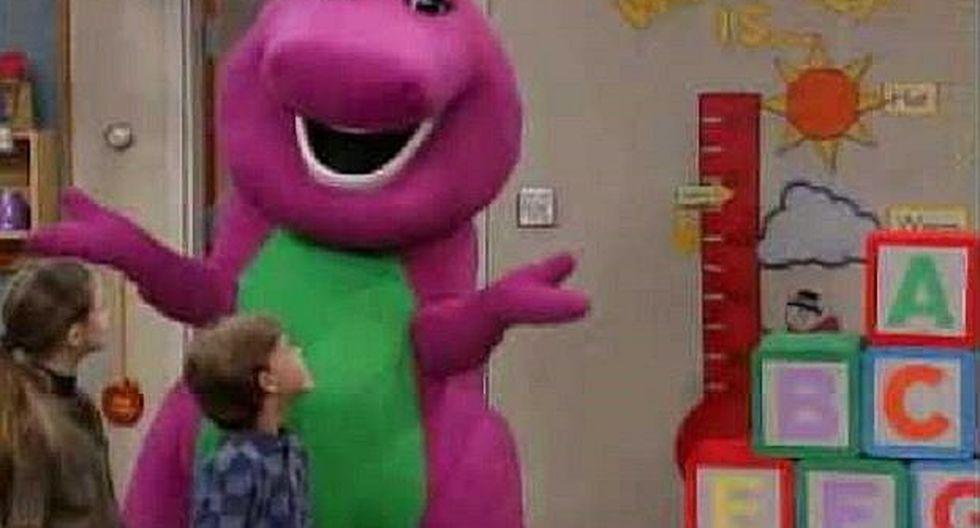 Conoce al actor que estuvo debajo del muñeco 'Barney' por 10 años (VIDEOS)