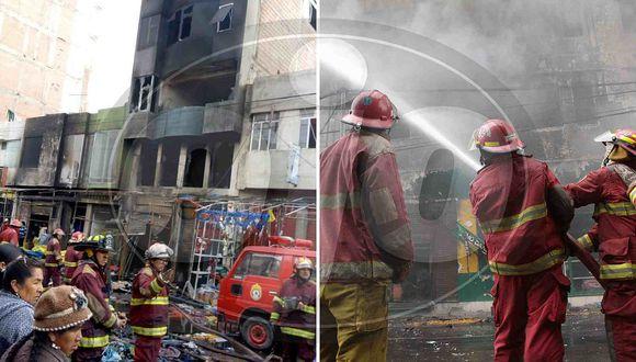 Navidad: Bomberos se batieron para atender decenas de incendios y rescates