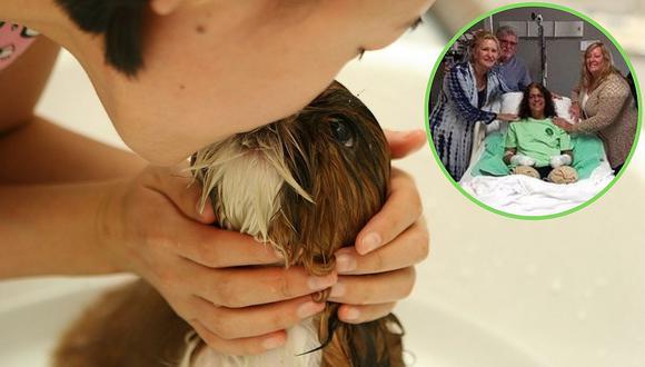 Mujer pierde piernas y manos por una infección que contrajo de su perro | FOTOS
