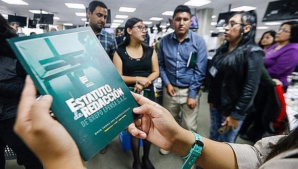 GESAC: Estatuto de Redacción marca hito en el periodismo peruano
