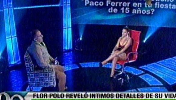 Florcita Polo ganó 10 mil soles en El Valor de la Verdad [VIDEO]