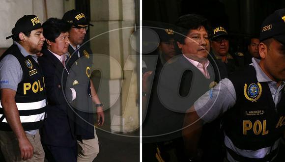 Edwin Oviedo con prisión preliminar (FOTOS)