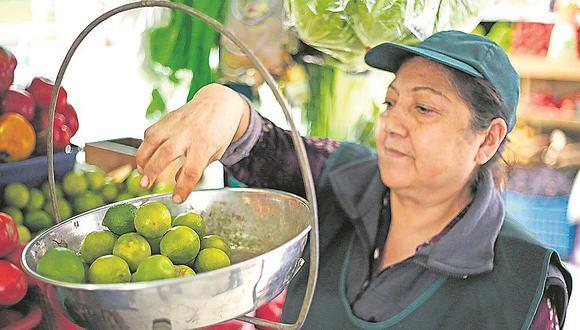Mayoristas reducen el precio del limón a S/2 pero en mercados ¡sigue por la nubes!
