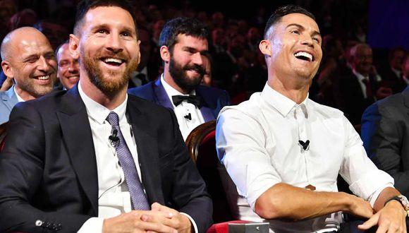 El brasileño Rivaldo propone juntar a Lionel Messi y Cristiano Ronaldo en la Juventus. (Foto: EFE)