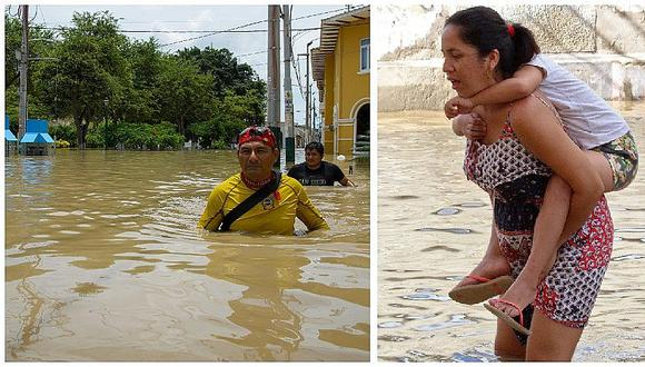 Piura bajo el agua y afirman que lluvias seguirán