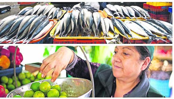 Economía peruana: alza del precio del limón y pescado golpea canasta familiar