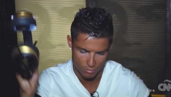 Youtube: Cristiano Ronaldo explotó cuando le preguntaron por escándalo en la FIFA