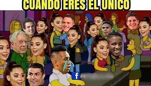 Choteada de Alexandra Méndez a Christian Cueva generó divertidos memes