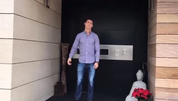 Cristiano Ronaldo muestra su lujosa casa en Madrid con este video