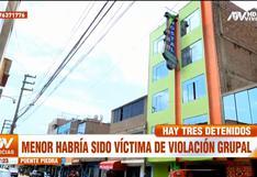 Puente Piedra: investigan a tres amigos por presunta violación sexual grupal a una menor de 17 años