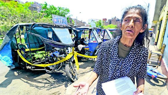 'Reina de los mototaxis' recibe amenaza tras balear a su hijo y quemar sus motos