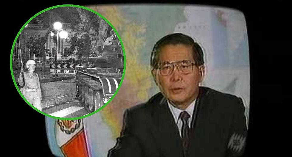 Alberto Fujimori: Así fue el autogolpe de Estado del 5 de abril de 1992