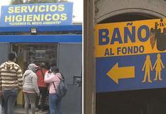 Cercado de Lima presenta solo 13 baños públicos habilitados