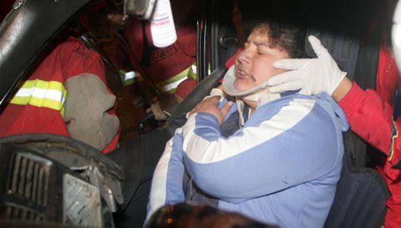 Accidentes en San Borja y el Cercado de Lima dejan siete heridos